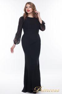 Вечернее платье 906_black. Цвет чёрный. Вид 1