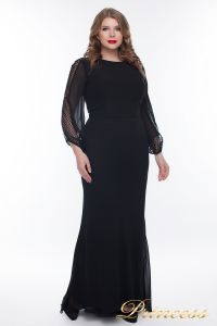 Вечернее платье 906_black. Цвет чёрный. Вид 2