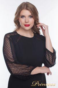 Вечернее платье 906_black. Цвет чёрный. Вид 3