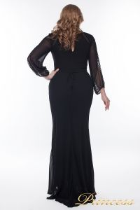 Вечернее платье 906_black. Цвет чёрный. Вид 4