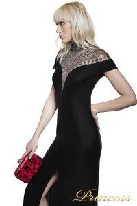 Вечернее платье BAL16651L BLACK 7. Цвет чёрный. Вид 2