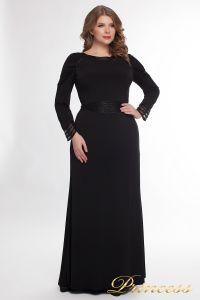 Вечернее платье 912_black. Цвет чёрный. Вид 1