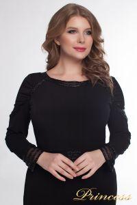 Вечернее платье 912_black. Цвет чёрный. Вид 2