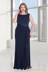 Вечернее платье 9164 NAVY. Цвет синий. Вид 1