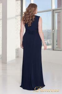 Вечернее платье 9164 NAVY. Цвет синий. Вид 2