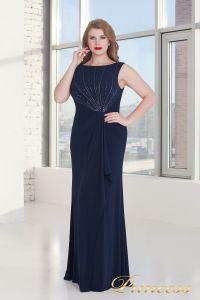 Вечернее платье 9164 NAVY. Цвет синий. Вид 3