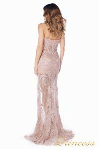Вечернее платье 92545. Цвет розовый. Вид 4