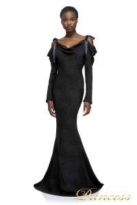 Вечернее платье AXX17589L BLACK 1. Цвет чёрный. Вид 1