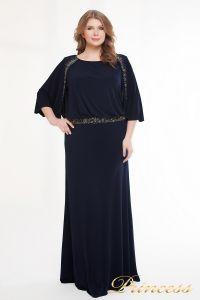 Вечернее платье 950_navy. Цвет синий. Вид 1