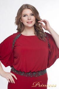 Вечернее платье 950_red. Цвет красный. Вид 2