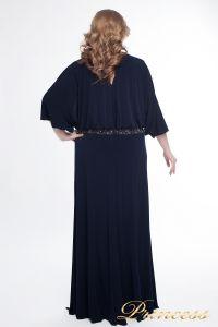 Вечернее платье 950_navy. Цвет синий. Вид 4