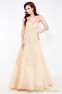 Свадебное платье 96116B. Цвет кремовый. Вид 2