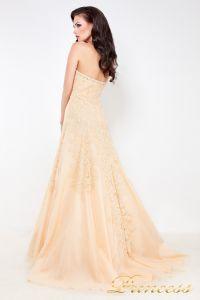 Свадебное платье 96116B. Цвет кремовый. Вид 3