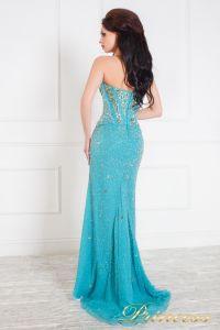 Вечернее платье 96127С. Цвет голубой. Вид 2