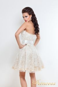 Платье на выпускной 78359N. Цвет пастельный. Вид 2