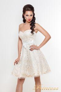 Платье на выпускной 78359N. Цвет пастельный. Вид 3