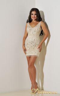 Коктейльное платье 96139B. Цвет пастельный. Вид 1