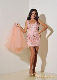 Вечернее платье 96139LP. Цвет розовый. Вид 6