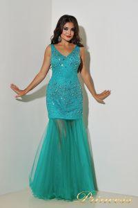 Вечернее платье 96139LG. Цвет зеленый. Вид 6