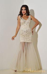 Коктейльное платье 96139B. Цвет пастельный. Вид 3