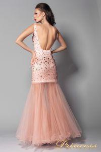 Вечернее платье 96139LP. Цвет розовый. Вид 2