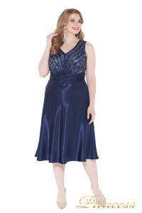 Вечернее платье 9810 blue . Цвет электрик . Вид 1