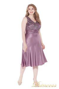 Вечернее платье 9810 pink. Цвет сиреневый. Вид 1