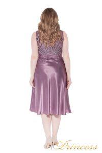 Вечернее платье 9810 pink. Цвет сиреневый. Вид 2