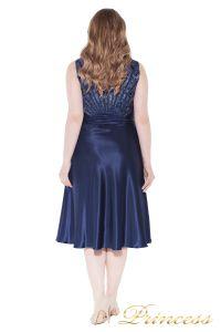Вечернее платье 9810 blue . Цвет электрик . Вид 3