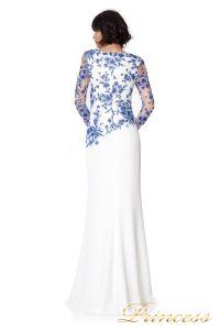Вечернее платье ATH16206LXY white. Цвет цветочное. Вид 2
