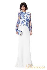 Вечернее платье ATH16206LXY white. Цвет цветочное. Вид 1