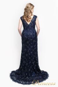 Вечернее платье 12026. Цвет синий. Вид 6