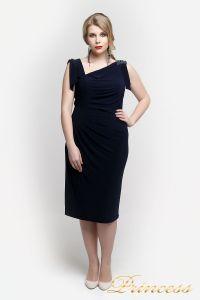 Вечернее платье 1029 N. Цвет синий. Вид 3