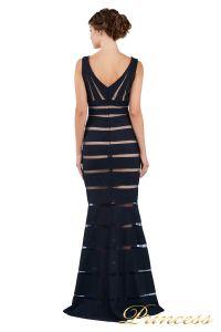 Вечернее платье 16003 navy. Цвет синий. Вид 6