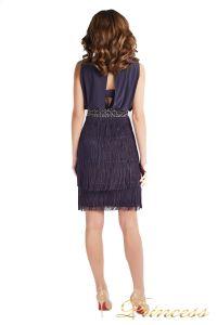 Вечернее платье 1147 gray. Цвет серый. Вид 3