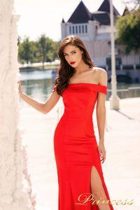 Вечернее платье NF-18113-red. Цвет красный. Вид 2