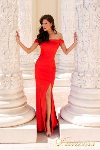Вечернее платье NF-18113-red. Цвет красный. Вид 1