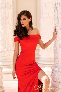 Вечернее платье NF-18113-red. Цвет красный. Вид 3