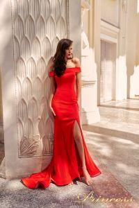Вечернее платье NF-18113-red. Цвет красный. Вид 4