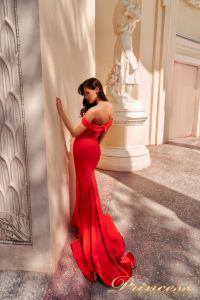 Вечернее платье NF-18113-red. Цвет красный. Вид 5