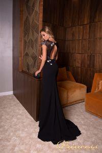 Вечернее платье 19023. Цвет чёрный. Вид 2