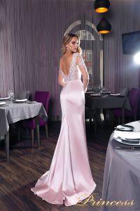 Вечернее платье 19031. Цвет розовый. Вид 2