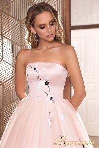 Вечернее платье 19040. Цвет розовый. Вид 3