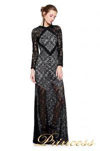 Вечернее платье TADASHI SHOJI AVS17129L . Цвет чёрный. Вид 1