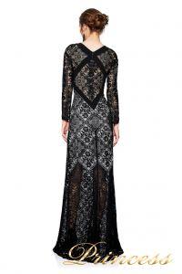 Вечернее платье TADASHI SHOJI AVS17129L . Цвет чёрный. Вид 2