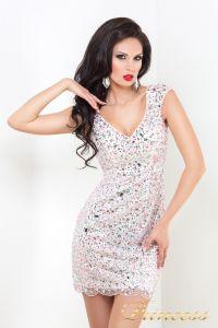 Коктейльное платье 26. Цвет розовый. Вид 2