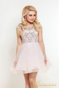 Платье на выпускной 24P. Цвет розовый. Вид 2