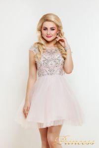 Платье на выпускной 24P. Цвет розовый. Вид 1