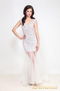 Коктейльное платье 26L. Цвет розовый. Вид 2