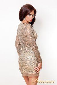 Коктейльное платье 632. Цвет пастельный. Вид 2